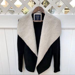 Cavalini   Shearling Cardigan Sweater